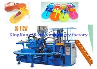 12 PCS Mold Station Footwear Making Machine For PVC Lady Jelly Flats / Slippers